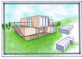 Piscine Container by Cuisine Best Ideas About Construire Sa Maison Container On