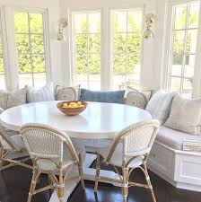 Kitchen White Oval Table And Chairs Eiforces - Oval kitchen table