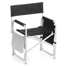 Folding Directors Chair With Side Table Directors Sport Chair With Table Personalized Camping Chair With