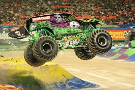 grave digger driver dennis anderson injured flipping truck