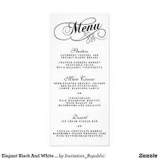 formal dinner menu template p u0026l template excel successful cover