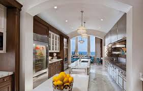 Galley Kitchens With Island - kitchen simple large galley kitchen with simple large galley