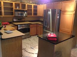Pics Of Kitchens With Oak Cabinets Kitchen Refacing Oak To Bright White Capital Kitchen Refacing