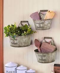 country home accents and decor set of 3 rustic country living wall buckets home decor accents