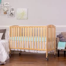 on me folding full size convenience crib
