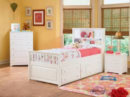 White Girls Bookcase by Stow Away Bookcase Captains Bed Girls Ltdonlinestores Com