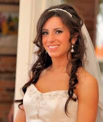 bridal wedding hairstyle for long hair hairstyles long hair with veil
