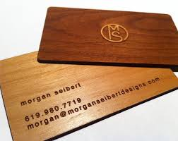 inspirational stock of wood business cards business cards design