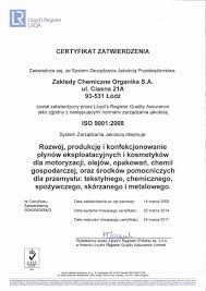 organika certificates and approvals