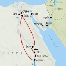 Jordan River Map Premium Tour Of Egypt With Nile Cruise On The Go Tours Au