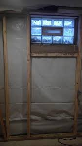 insulating basement with interior french drain and vapor barrier