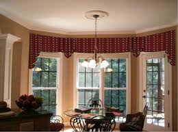 charm curtains for bay windows inspiration home designs