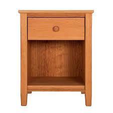 vermont shaker 1 drawer nightstand vermont woods studios