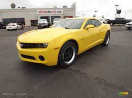 2012 chevrolet camaro ls coupe 2012 rally yellow chevrolet camaro ls coupe 60379084 gtcarlot