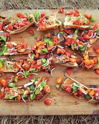 Summer Lunches Entertaining Super Easy Appetizers Martha Stewart