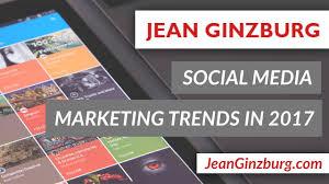 social media marketing trends in 2017 youtube