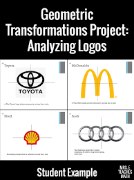 Transformations Logo Project Geometric Transformations