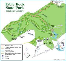 table rock hiking trail mill creek falls table rock state park january 31 2017