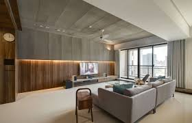 super modern apartment design ideas with wooden wall and nice