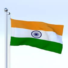 Poly Flag Animated India Flag By Dragosburian 3docean