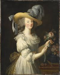 robe mari e painting portraits of antoinette rmn grand palais