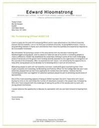 how to present a cover letter graduate student cover letter