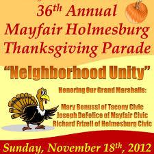 mayfair civic association november 2012