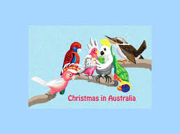 aussie christmas cards
