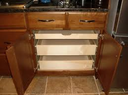 Kitchen Cabinet Pull Out Baskets Pull Out Shelves In A Kitchen Cabinet Kitchen Drawer Organizers