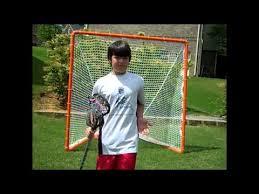 diy lacrosse goal homemade lacrosse goal youtube