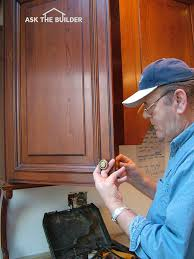 Kitchen Cabinet Pull Placement Cabinet Knobs Ask The Builderask The Builder