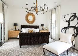 Tufted Sleigh Bed Bedroom Design Brown Velvet Tufted Sleigh Bed Bedroom