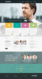 templates for business consultants consulting responsive website template 49209
