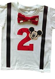 mickey mouse birthday shirt 2nd birthday shirt boys mickey mouse clothing