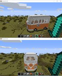 volkswagen bus art vw bus i made on minecraft by thevoidedpit on deviantart