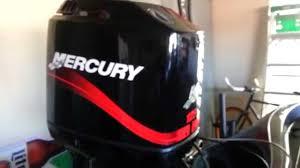 diy mercury 125 outboard maintenance youtube
