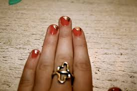 gold nail art pen nail nailsart