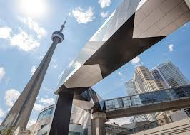 Home And Design Expo Centre Toronto Black And White Bridge Connects To Toronto U0027s Convention Centre
