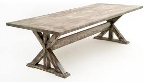 solid wood trestle dining table impressive design reclaimed wood trestle dining table absolutely