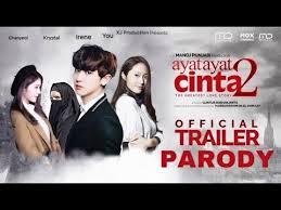 ayat ayat cinta 2 trailer engsub ayat ayat cinta 2 official trailer parody chanyeol