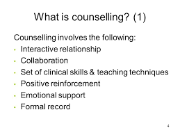 Difference Between Counselling Skills And Techniques Section 3 Introduction To Basic Counseling Skills Ppt