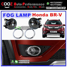 Fog Light Kits Honda Brv Br V 2016 Fog Lamp Fog Lamp Chrome Ring Spot Light Kit