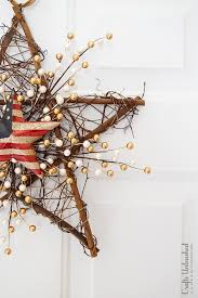 diy grapevine wreath 4th of july theme crafts unleashed