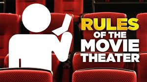 home movie theater signs the golden rules of the movie theater youtube
