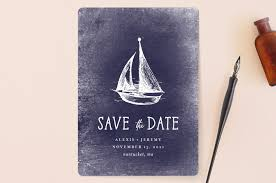 nautical save the date nautical save the date cards by bowen minted