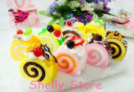 simulation 3d cuisine 2018 simulation hokkaido cake colorful model 3d fridge magnets