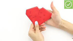 Flag Folded Into Triangle How To Fold A Note Into A Heart 11 Steps With Pictures