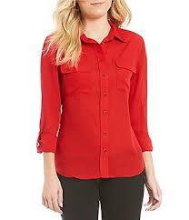 petite casual u0026 dressy tops u0026 blouses dillards