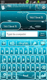 go keyboard apk file go keyboard blue android app free in apk