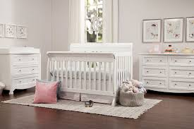 White Convertible Baby Crib Davinci Kalani 4 In 1 Convertible Crib White Baby